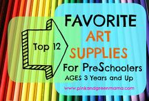 Art Supplies / Favourite art supplies and wish list of art media, substrates and supplies to create with next!