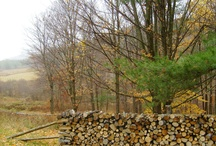 stacked (wood & ?, color and texture inspiration) / really diggin stacked wood right now - who knows why............