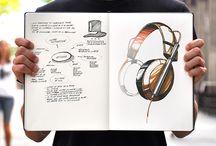 industri/produktdesign tegning