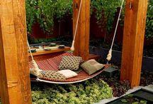 Garden relaxing