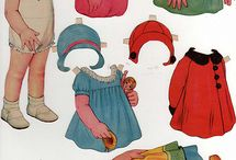 Vintage Paper Dolls / by Gwynn Butterfield