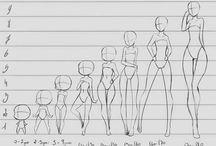 рисование тела