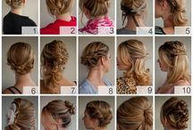 Hairstyles / by Diann LoGuidice