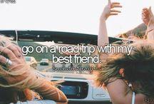Best friend bucket list!! / Things to do with my best friend