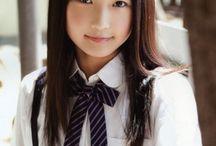 Little cute Asian girls