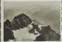 Walter Mittelholzer / Images by flight pioneer Walter Mittelholzer.