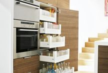 Super storage / Clever ideas to make the most of every inch of space in your kitchen