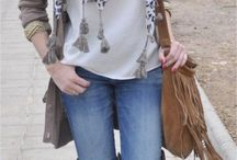 moda hippie mujer invierno