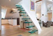 Escaliers design / Des escaliers design mais surtout terriblements beaux ! Voici de nombreuses inspirations d'escaliers pour un style déco réussi !