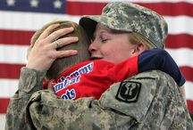 Mother's Day / For the women who raised the men and women who defend this country and for the mothers who defend it themselves, we say Happy Mother's Day and Thank You!