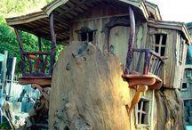 Tree houses, small houses, door &widows