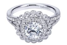 Gabriel & Co / Engagement Rings by Gabriel & Co / by agent diamond