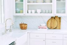 Kitchen Ideas / Kitchen Ideas - Ideas for kitchens and kitchen styling ideas  / by For Chic Sake