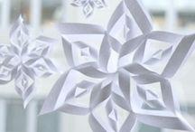snowflake/origami