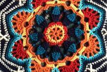 Crochet persian tiles