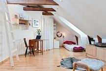 podkrovie / attic / priklady podkrovia