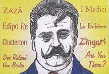 Leoncavallo / Ruggiero Leoncavallo, 1857 - 1919), Italian composer o the opera 'Pagliacci'