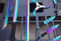 Fabulous Knifes Swords