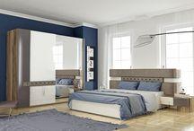 Bend Yatak Odası / Yatak Odası İzmir Ervada Mobilya