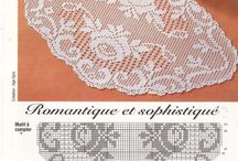 Crochet ROSAS / Tapetes motivo de rosas