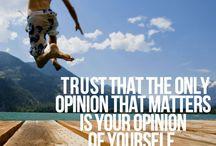 Tänk positiva och bra tankar