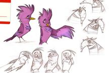 cartoon seagull