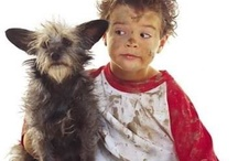 Pets and Children / Pets are part of many children's lives...and that's great :D