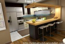 amerikan mutfak+masası