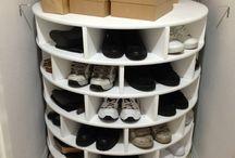 Schuh Regal