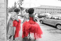 Bruidsreportage / Bruid word opgehaald door bruidegom