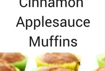 Healthier muffins and baked goods