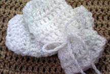 simple crochet mitts