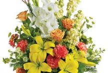 Sympathy Flowers / Choose from our beautiful range of sympathy flowers. We can arrange funeral flower delivery to the funeral home or to the families home. Flowers are considered the best way to show your sympathy in the time of someones loss.