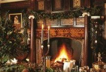Country House Christmas / This Christmas at Tea & Roses we are taking inspiration from all things country house.