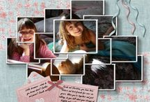 Digital Scrapbook Pages/Layouts