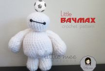 Amigurumi cartoon character series