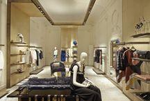 Luxury apparel shop