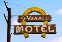 High Sign / Signage that's cool. Signage that's neon. Big stuff that's rusty. / by Scott Combs