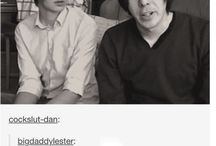 Dan and Phil / Not a ship board...