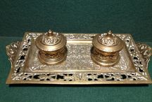 Inkwells & Inkstands / A selection of items that are for sale in our ebay shop. http://stores.ebay.co.uk/antiquesandcollectables4u