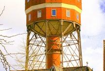 Watertoren / Deze staat in de provincie Groningen