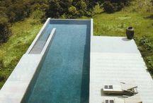 moderner Teich/pool