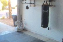 Garage gym/cave
