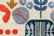 quilts // appliqué / quilt design and patterns made from all types of applique: needle turn applique, raw edge applique
