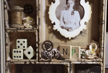 shadow boxes and frames