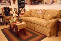 country sofa