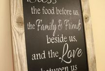 Kitchen Chalkboard Quotes