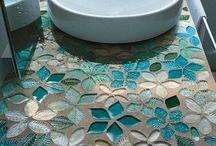 mosaici con piastrelle