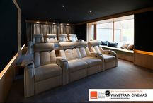 Let There Be Light / Home theatre in Central Coast NSW Australia designed by Wavetrain Cinemas. Seating by Jaymar.
