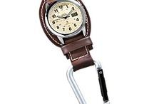 Reloj colgante mosqueton